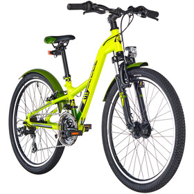 s'cool XXlite 24 21-S alloy Kids, lemon matt